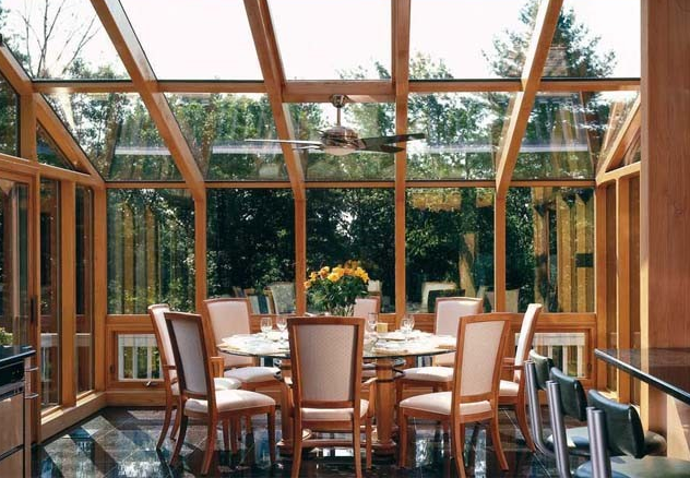 木质阳光房